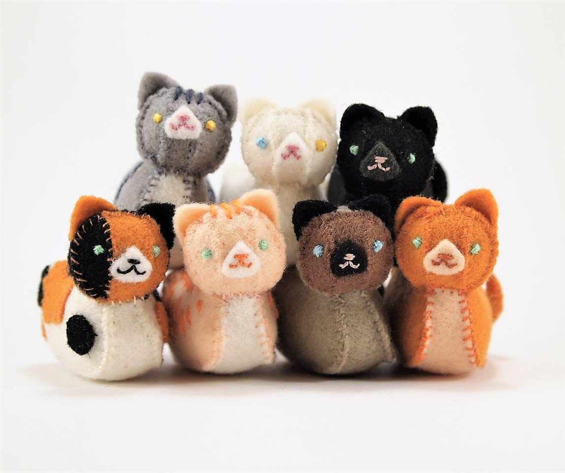 Floydine's Mini Loaf Cat Pattern