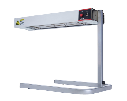24 Electric Strip Heater with adjustable stand and undermount brackets.