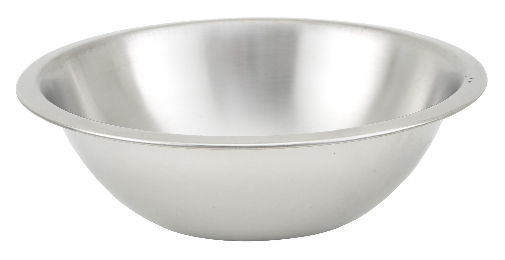 1-1/2qt Mixing Bowl, Shallow, Heavy-duty S/S,0.65mm