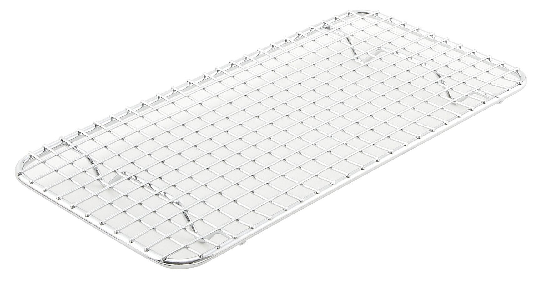 Pan Grate for Third-size Steam Pan, 5 x 10-1/2, Chrome Plated