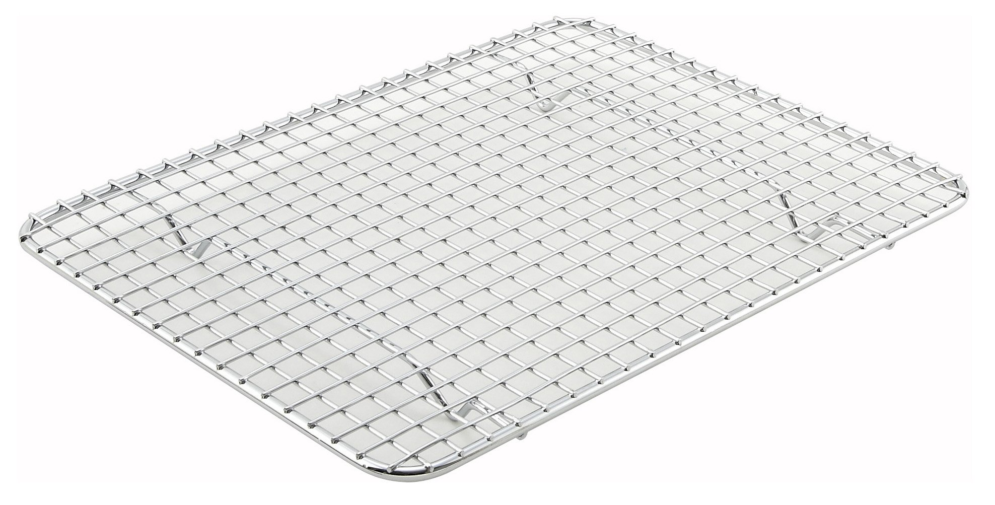 Pan Grate for Half-size Steam Pan, 8 x 10, Chrome Plated