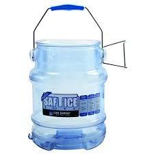 San Jamar Saf-T-Ice 6 Gallon Ice Tote