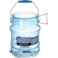 San Jamar Shorty Saf-T-Ice 5 Gallon Ice Tote