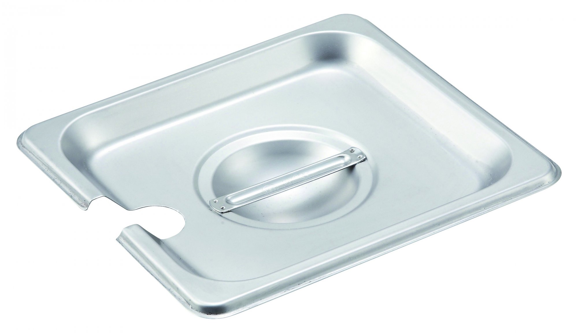 S/S Steam Pan Cover, 1/6 Size, Slotted