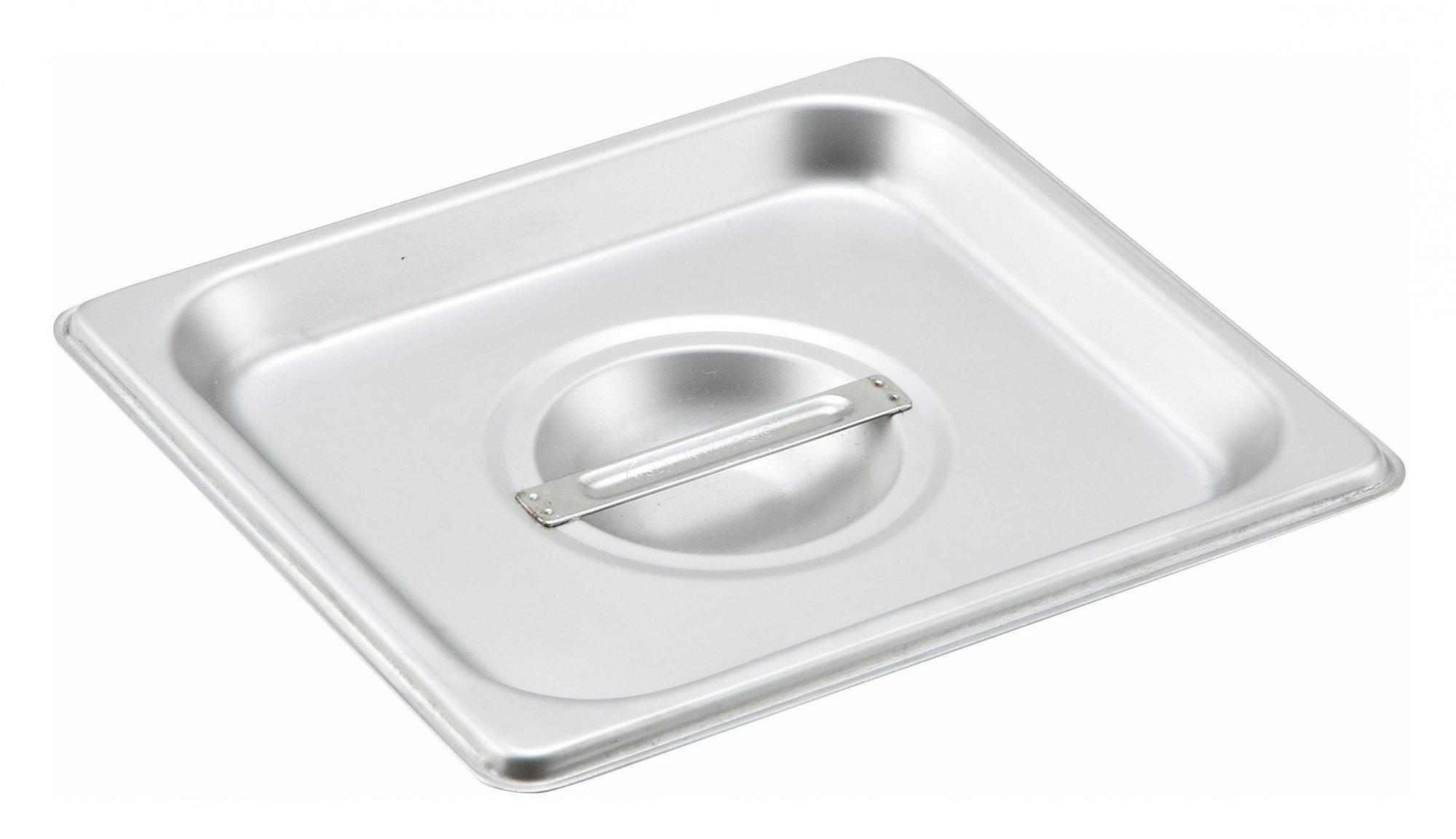 S/S Steam Pan Cover, 1/6 Size, Solid