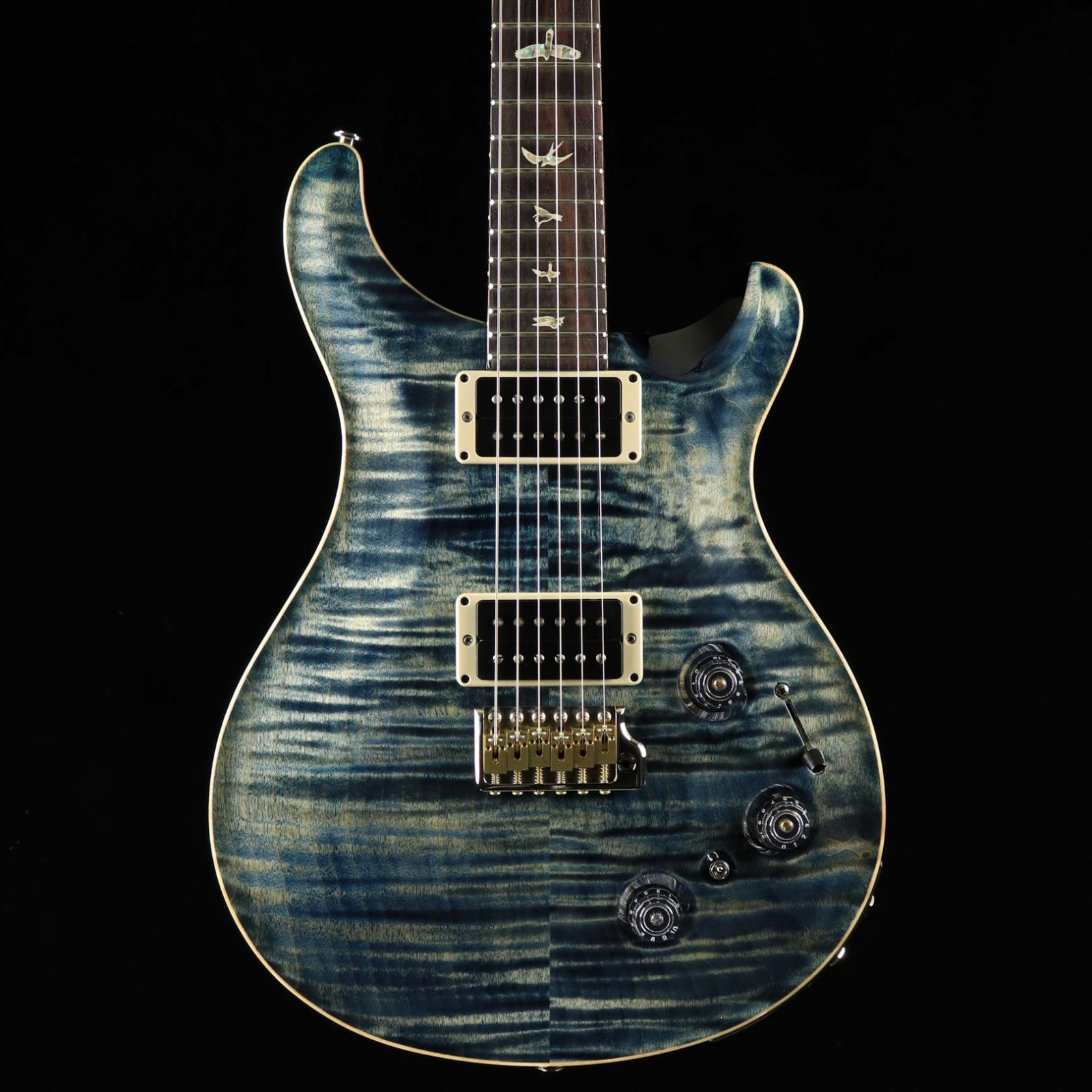 PRS Custom 22 Piezo - Faded Whale Blue