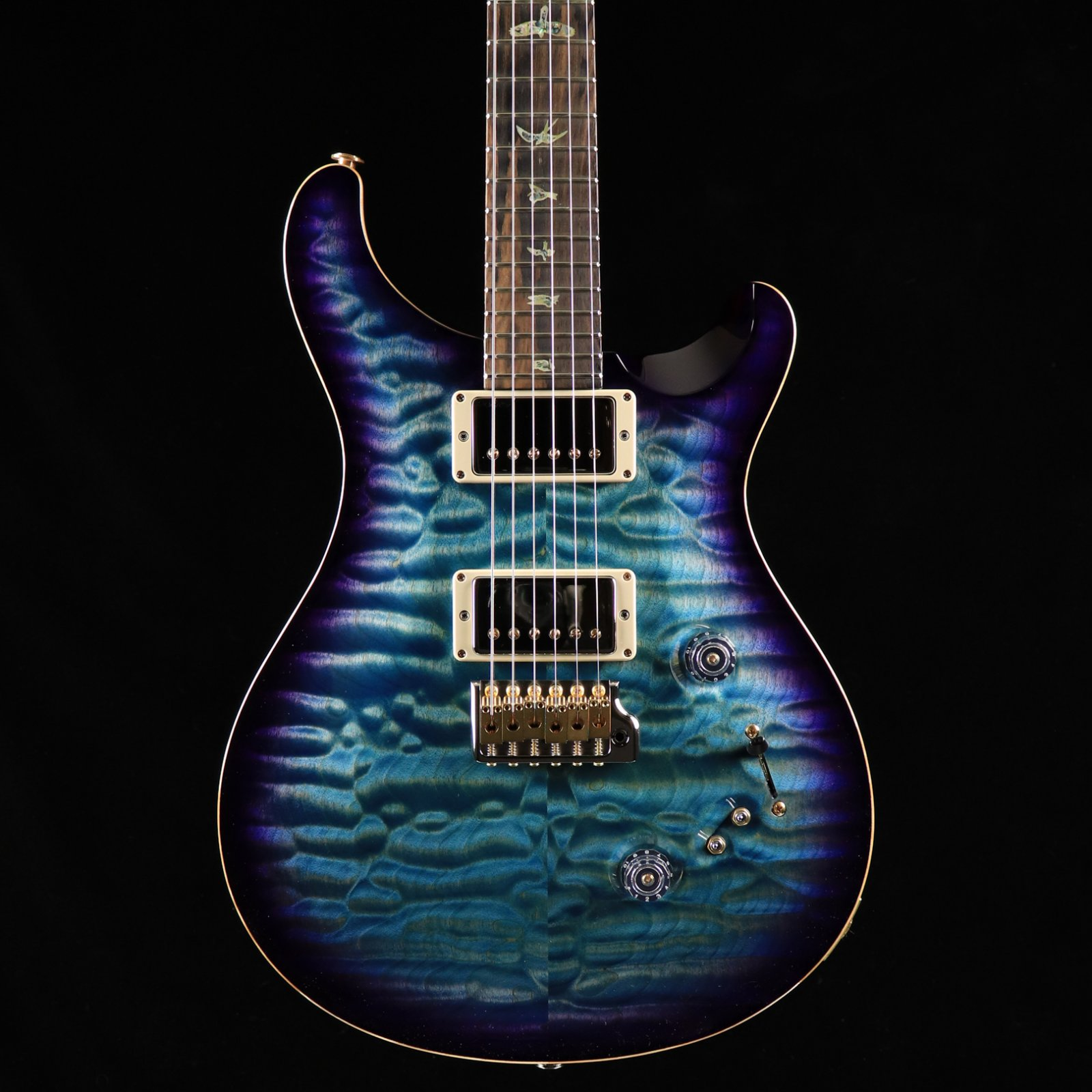 PRS Wood Library Custom 24-08 - Aquableux Purple Burst