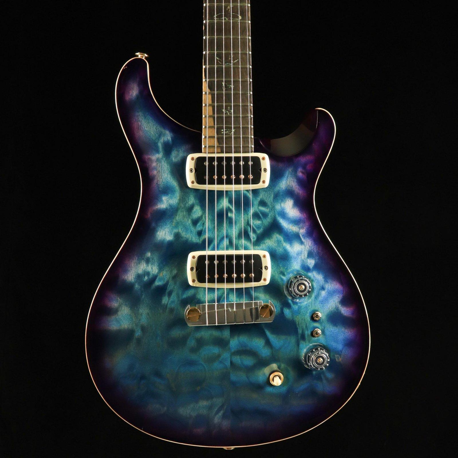 PRS Wood Library Paul's Guitar - Aquableux Purple Burst