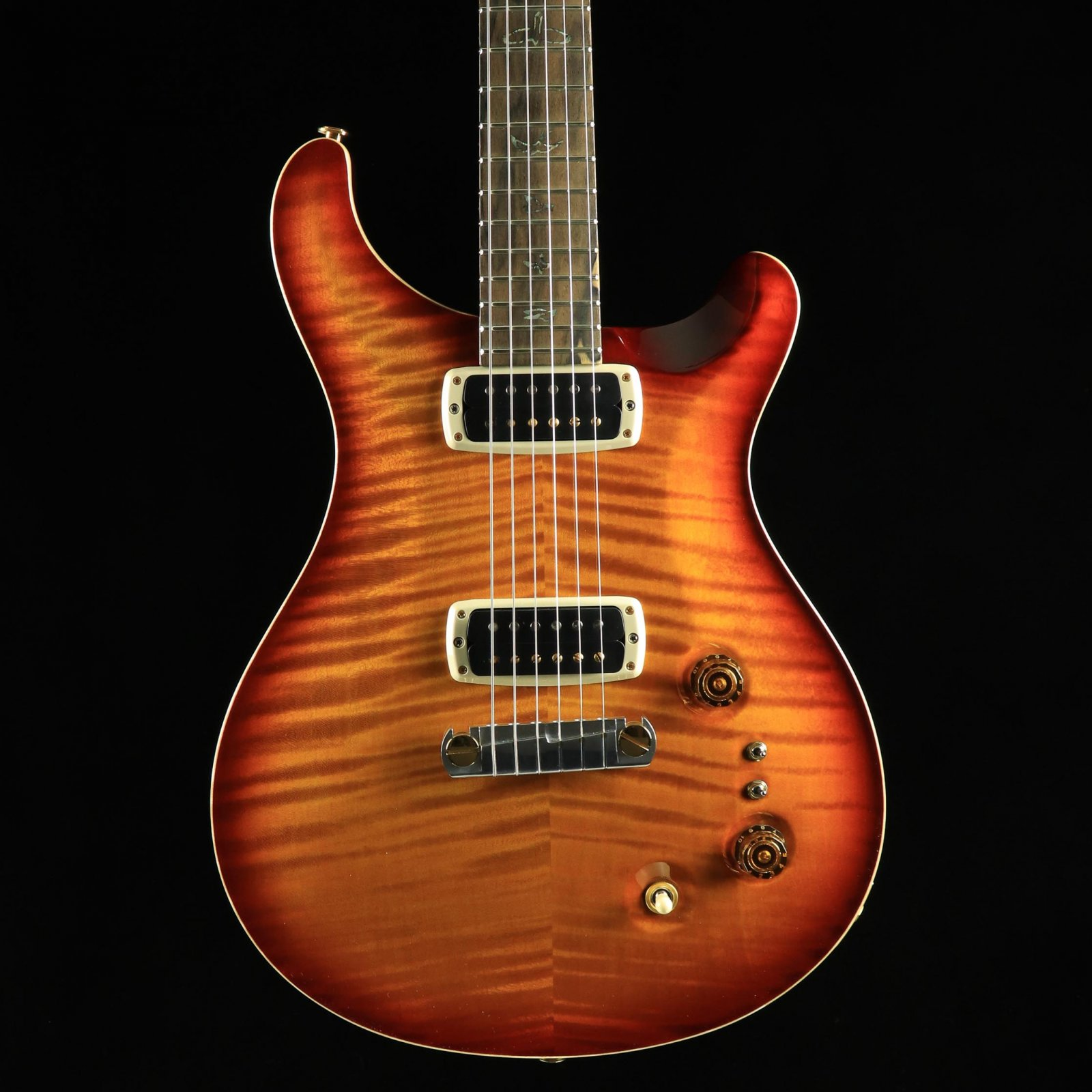 PRS Wood Library Paul's Guitar - Dark Cherry Sunburst