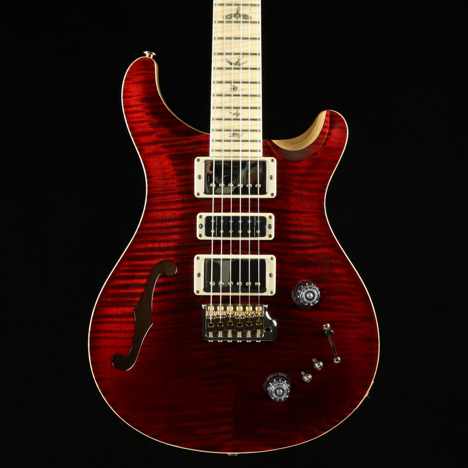 PRS Wood Library Special Semi Hollow - Red Tiger