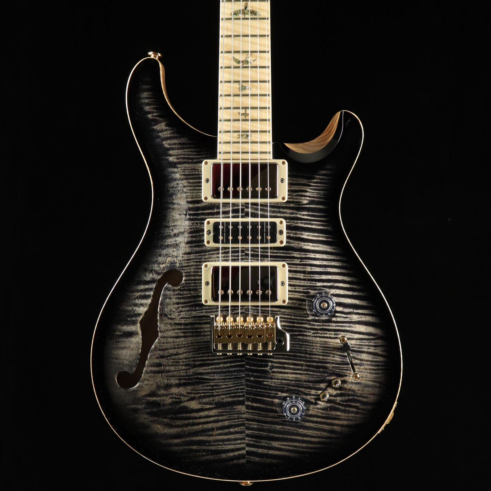 PRS Special Semi-Hollow Wood Library Guitar - Charcoal Burst