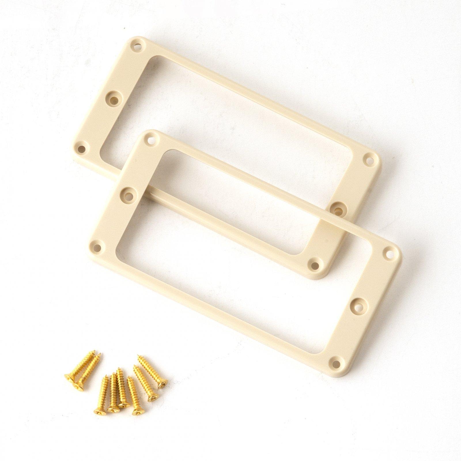 PRS Humbucker Pickup Ring(s) Straight - Creme