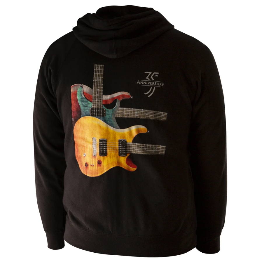 PRS 35th Anniversary Paul's Guitar Throwback Hoodie, Medium