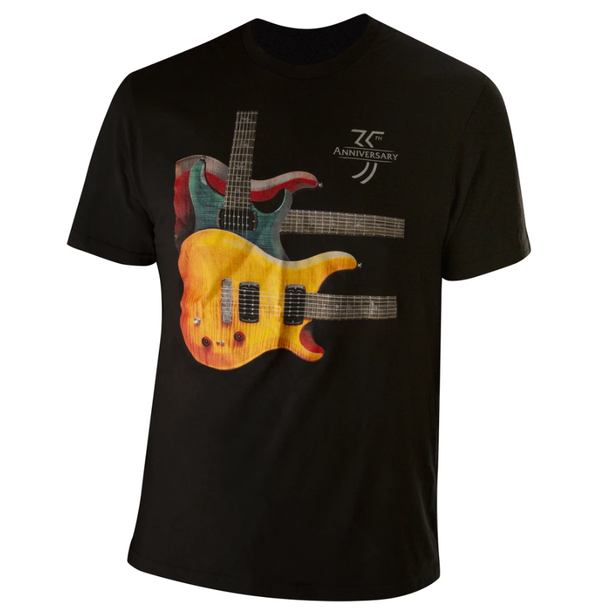 PRS 35th Anniversary Paul's Guitar Throwback Tee, Large
