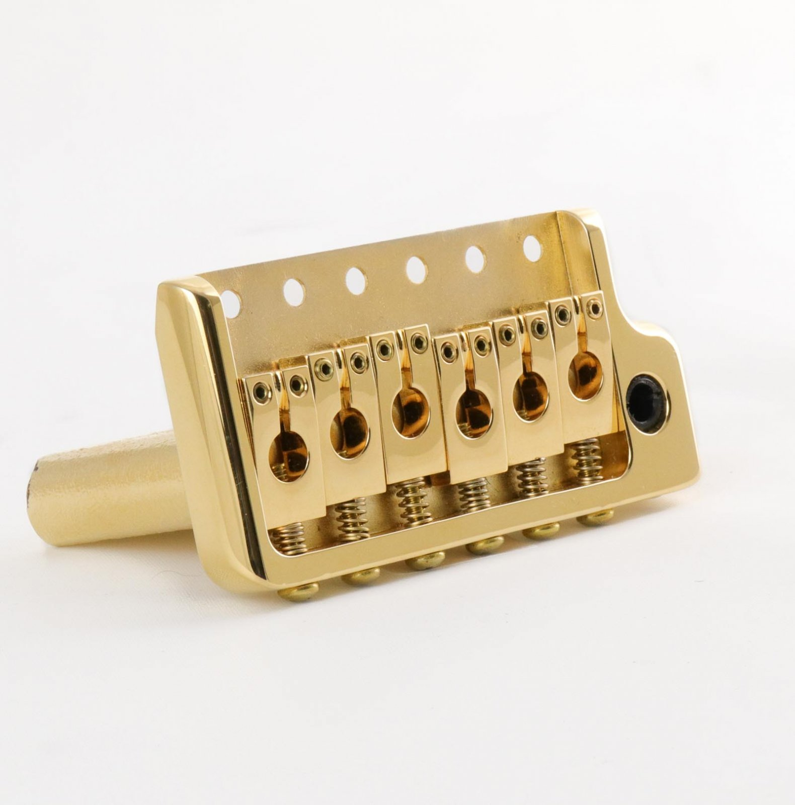 MannMade USA 2000NOS Vibrato Bridge - Raw Brass