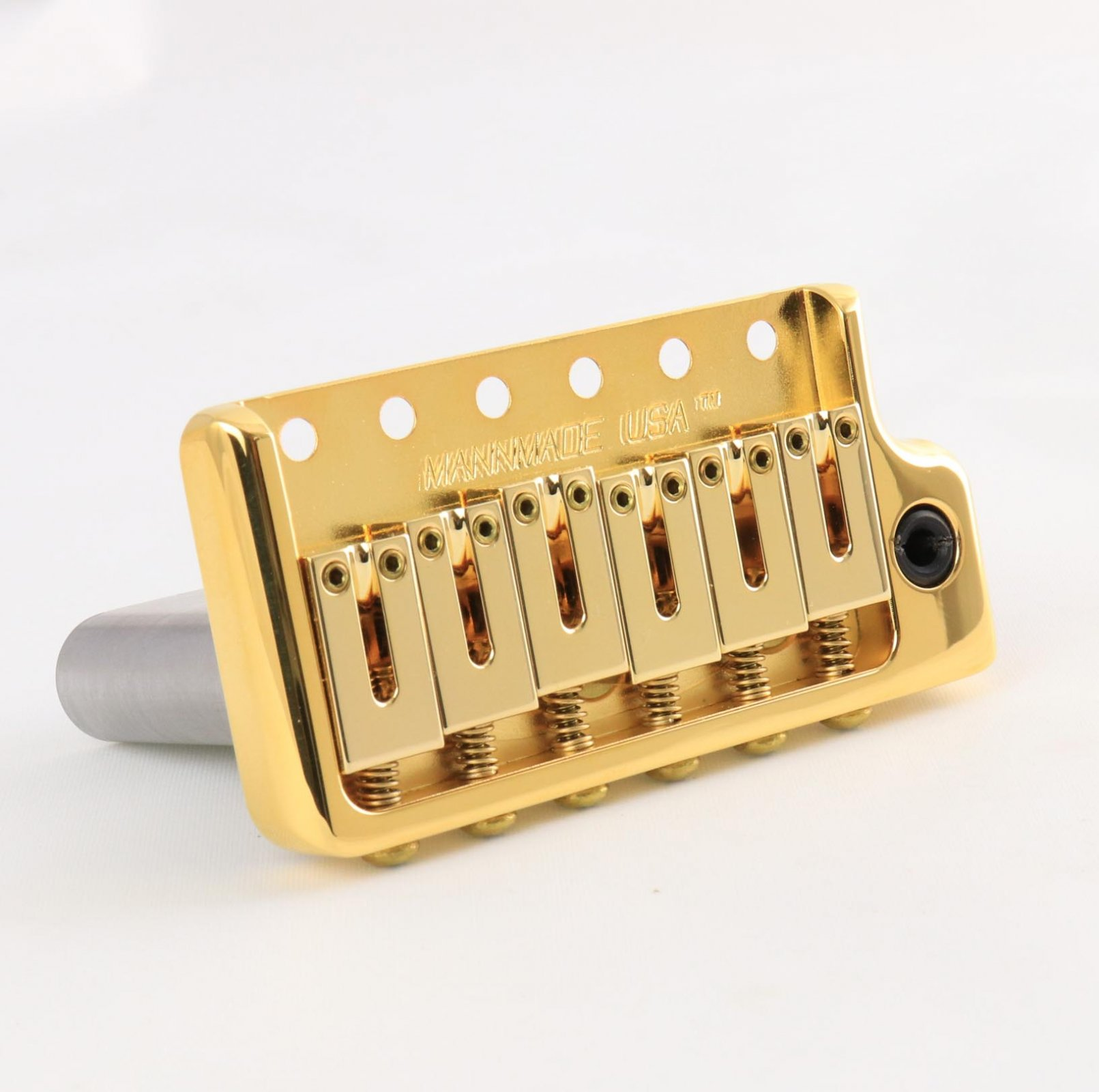 MannMade USA  ModernVibrato Bridge - Gold