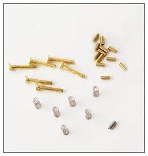 MannMade USA Vibrato Bridge Update Kit - Brass Screws