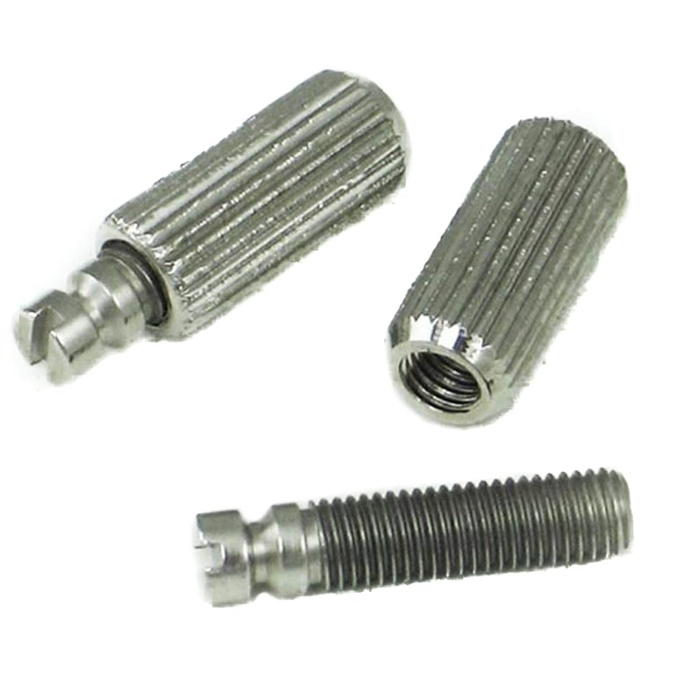 MannMade USA Mounting Posts & Wells Set - Nickel