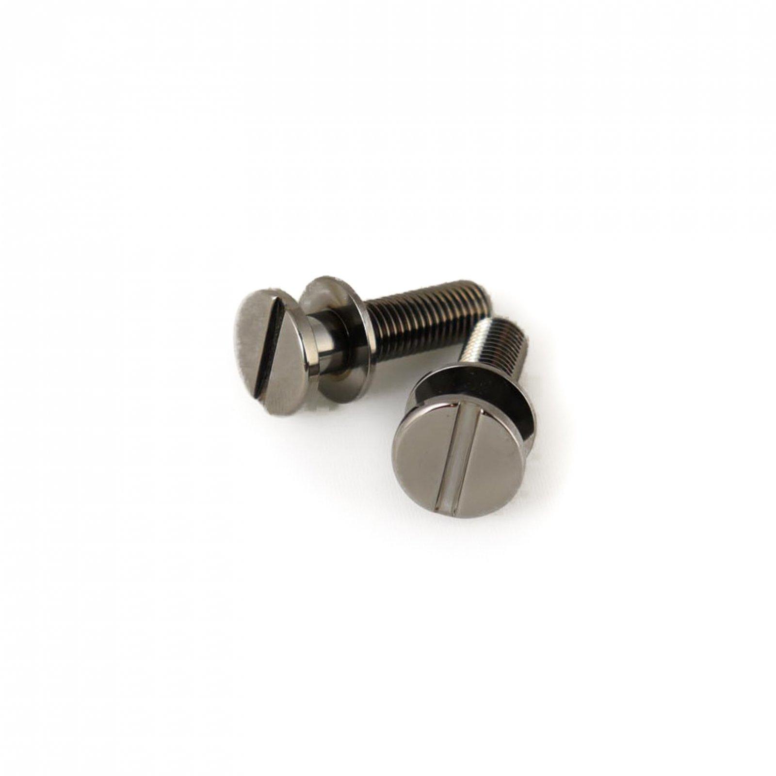 MannMade USA Stoptail Stud & Well set -  US Thread - Black Nickel