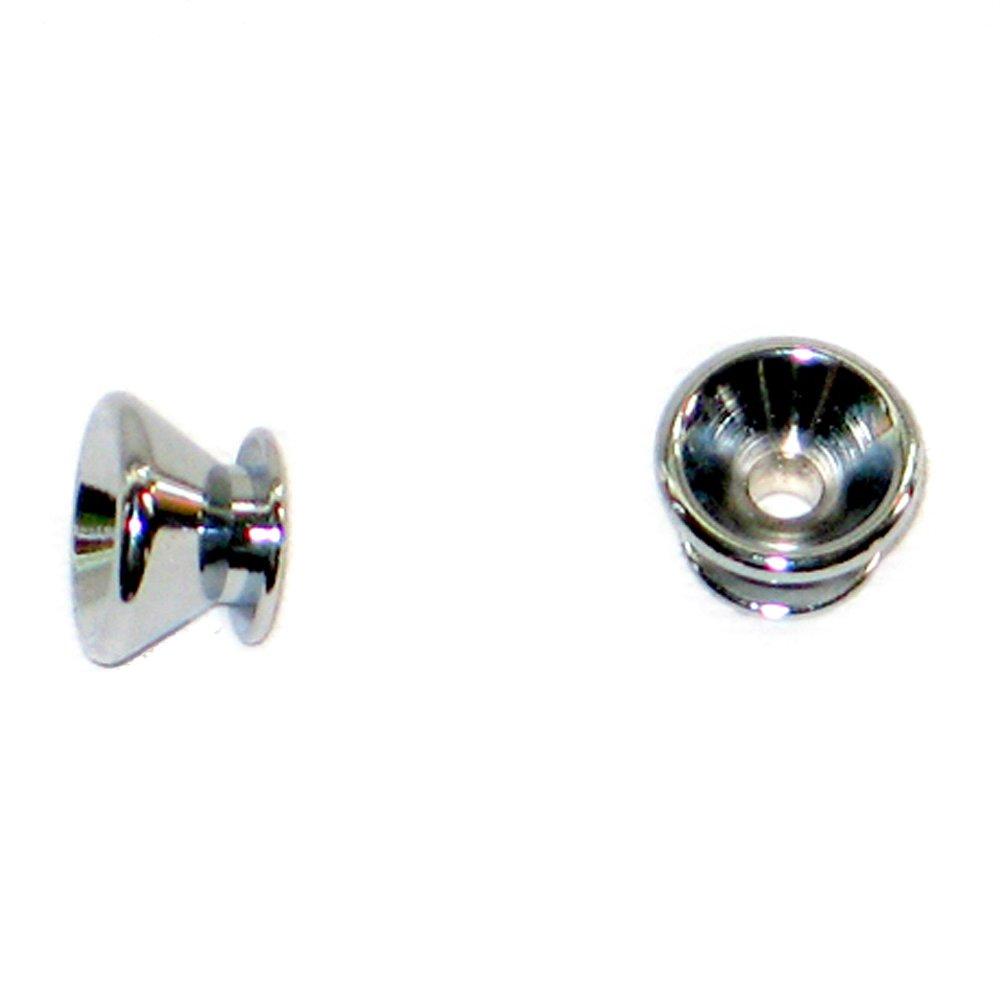 MannMade USA Strap Button Chrome Qty 2