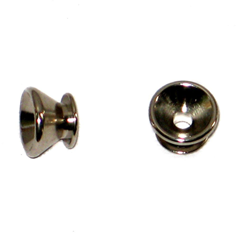 MannMade USA Strap Button Nickel Qty 2