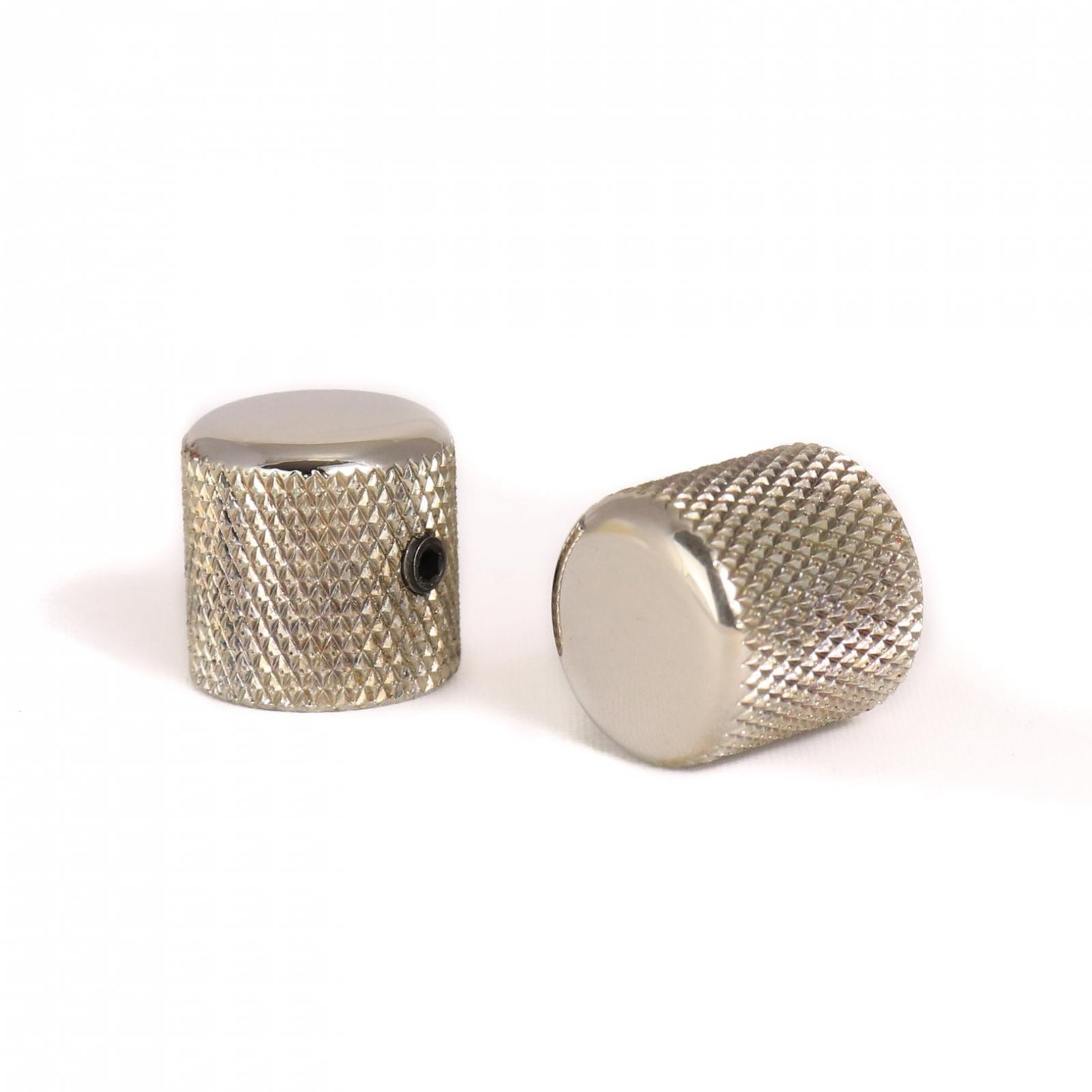 MannMade USA Knob Knurled Dome Top - Nickel