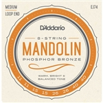 D'Addario Mandolin Phosphor Bronze Medium Gauge