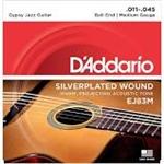 D'Addario Silverplated Wound Gypsy Jazz Guitar Med. Gauge