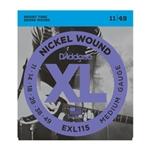 D'Addario EXL115 Medium Blues/Jazz Rock Guitar Strings