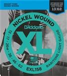 D'Addario EXL158 Light Baritone Guitar Strings