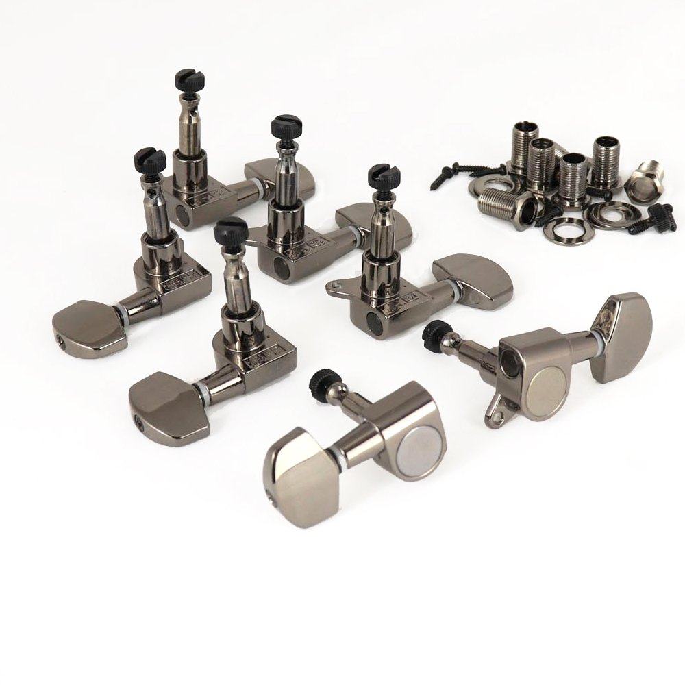 MannMade USA SE Locking Tuner Set - 7 String - Chrome