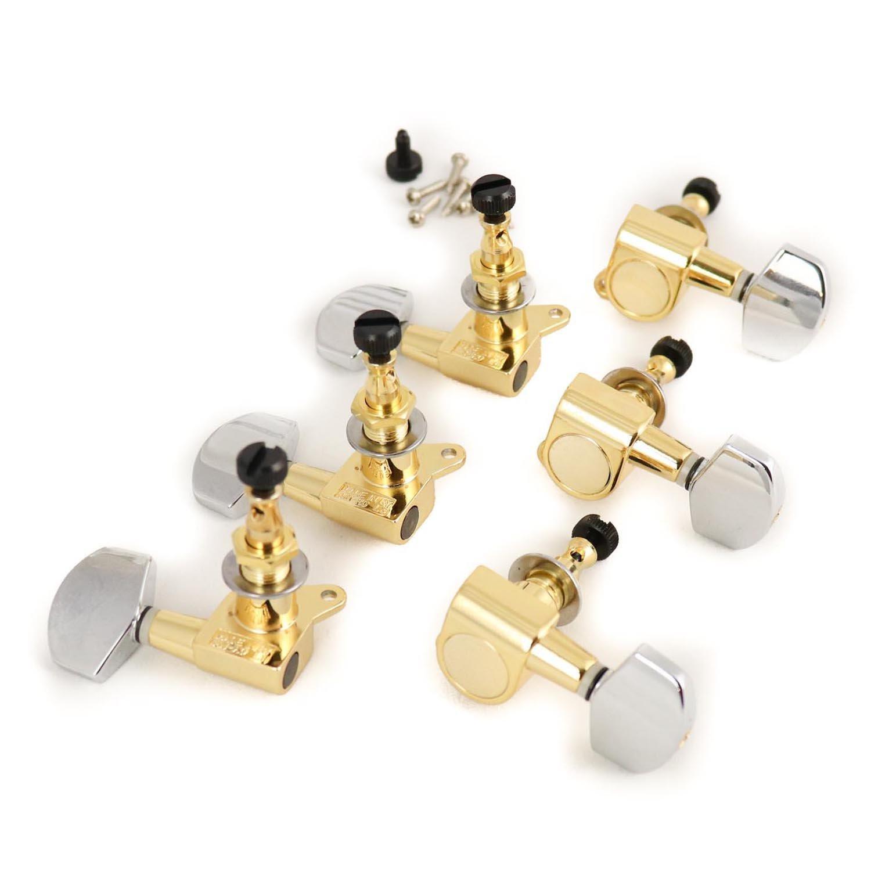MannMade USA SE Locking Tuner Set - Gold Hybrid