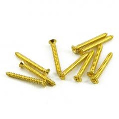 Pickup Ring Screw Set, Long - Gold