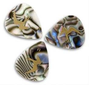 PRS Abalone Shell Celluloid Picks 12-Pack