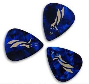 PRS Blue Pearloid Celluloid Picks 12-Pack
