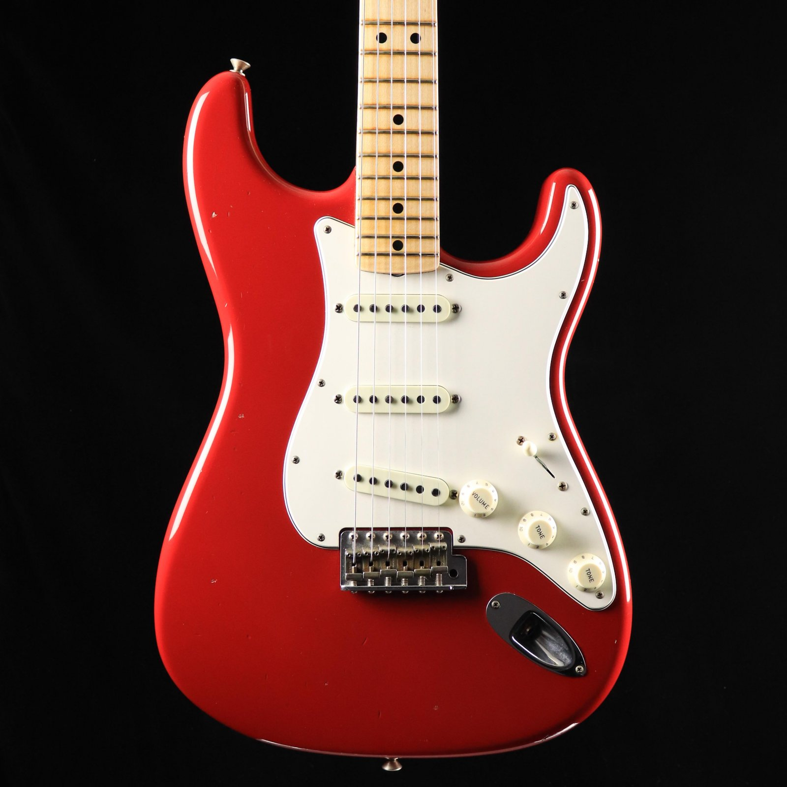 Fender Custom Shop 1969 Stratocaster Journeyman - Aged Dakota Red