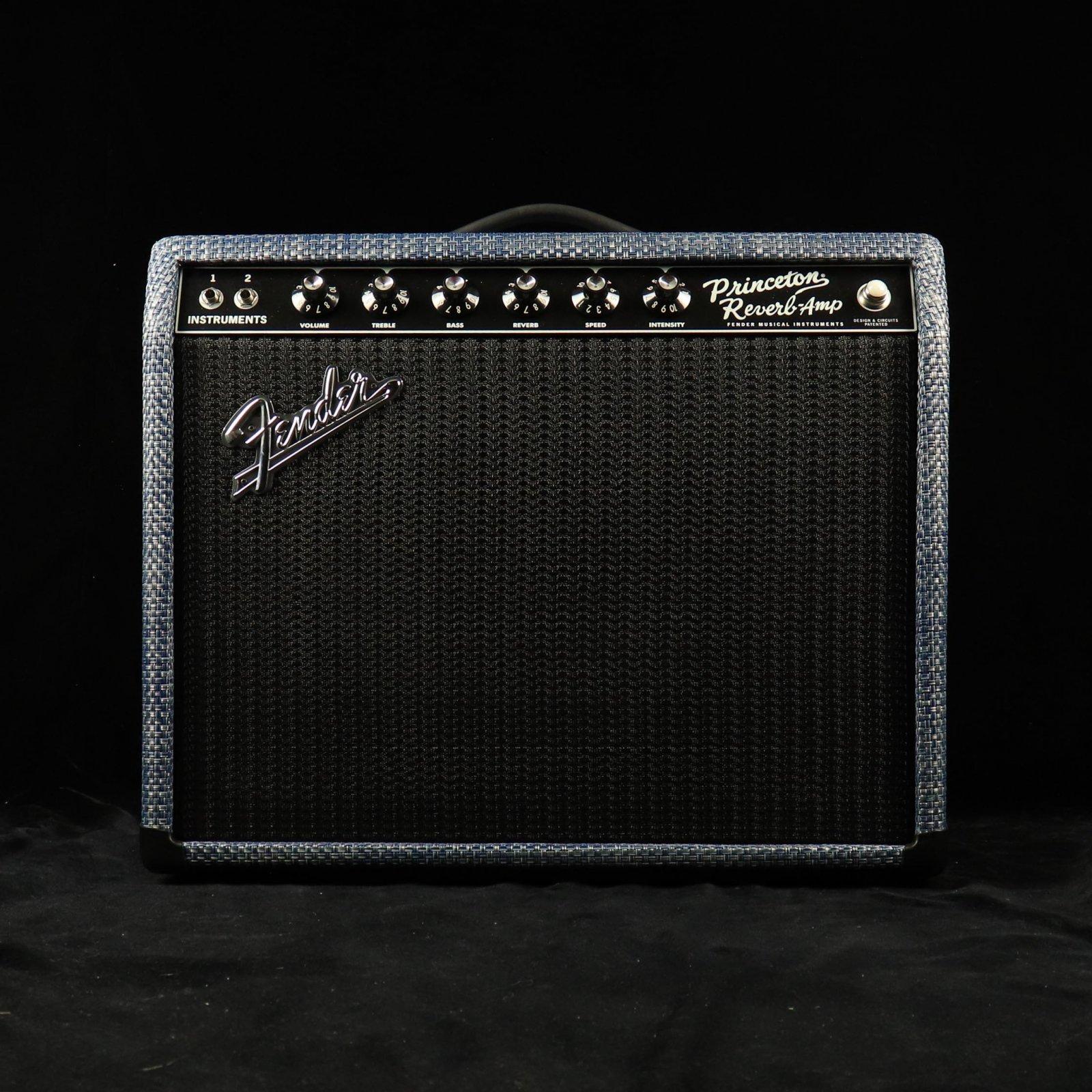 Fender Limited Edition Fender 65' Princeton - Chilewich Denim