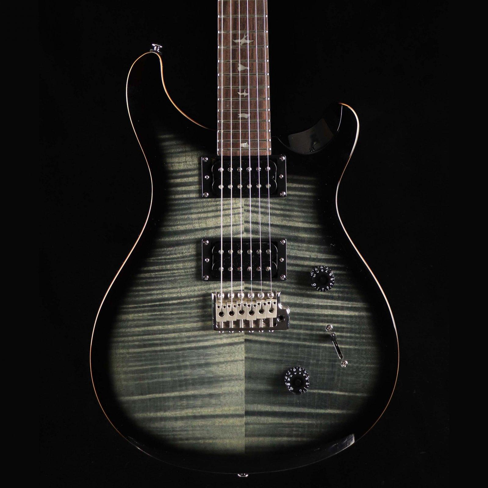 PRS SE Custom 24 - Charcoal Burst