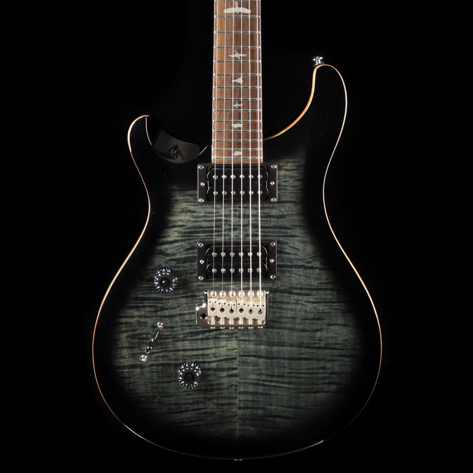 PRS SE Custom 24 Lefty - Charcoal Burst