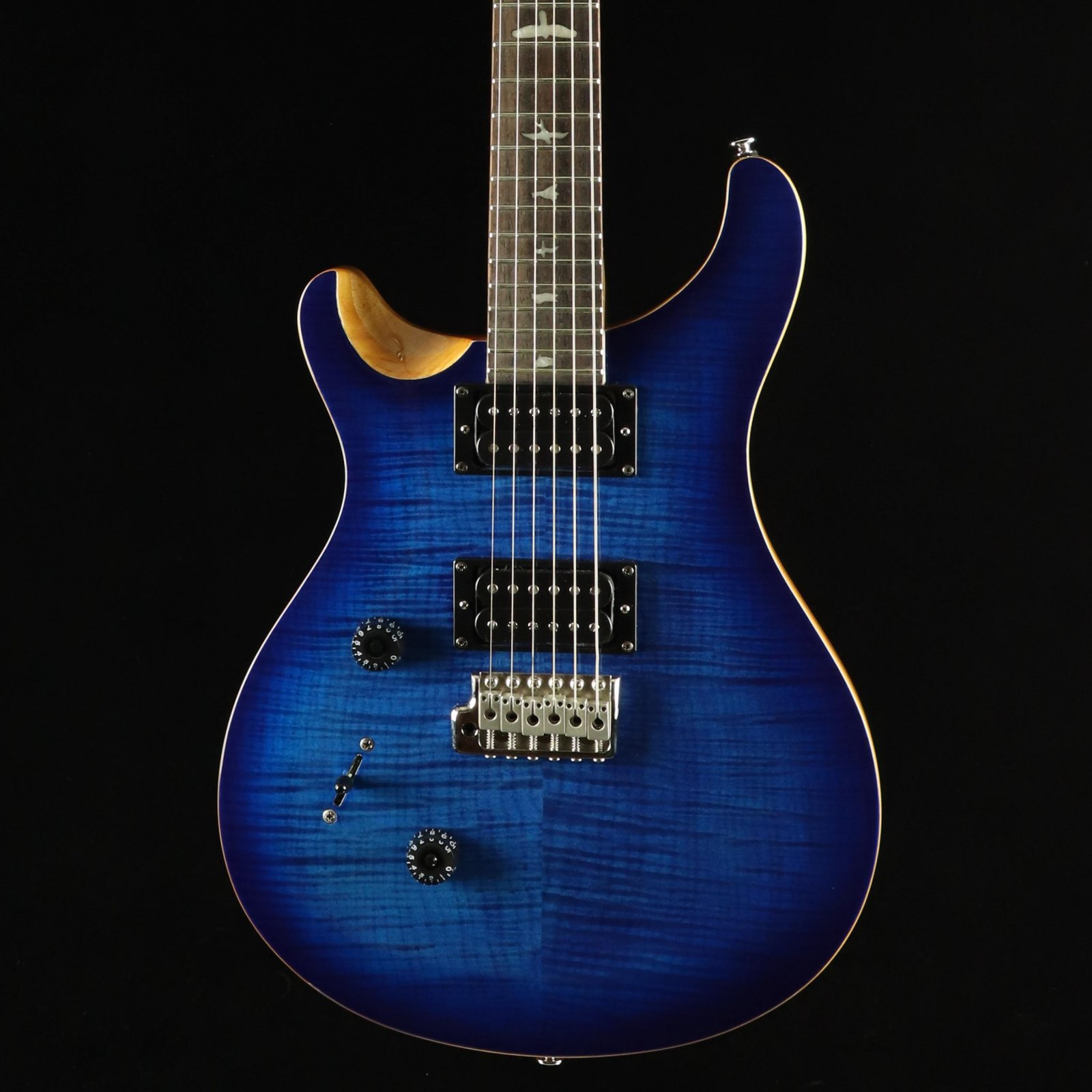 PRS SE Custom 24 Lefty - Faded Blue Burst