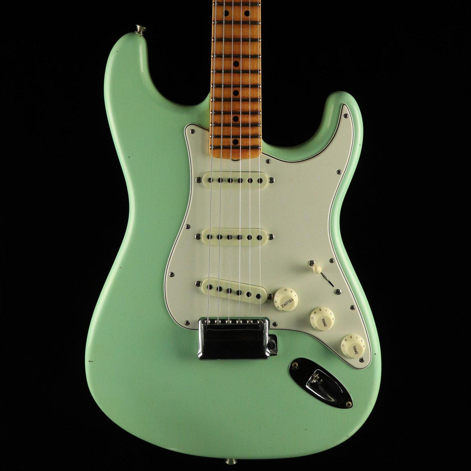 Fender Custom Shop 65' Stratocaster Journeyman - Faded Surf Green