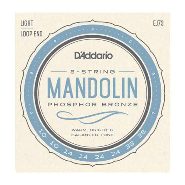 D'Addario Mandolin Strings Phosphor Bronze Light