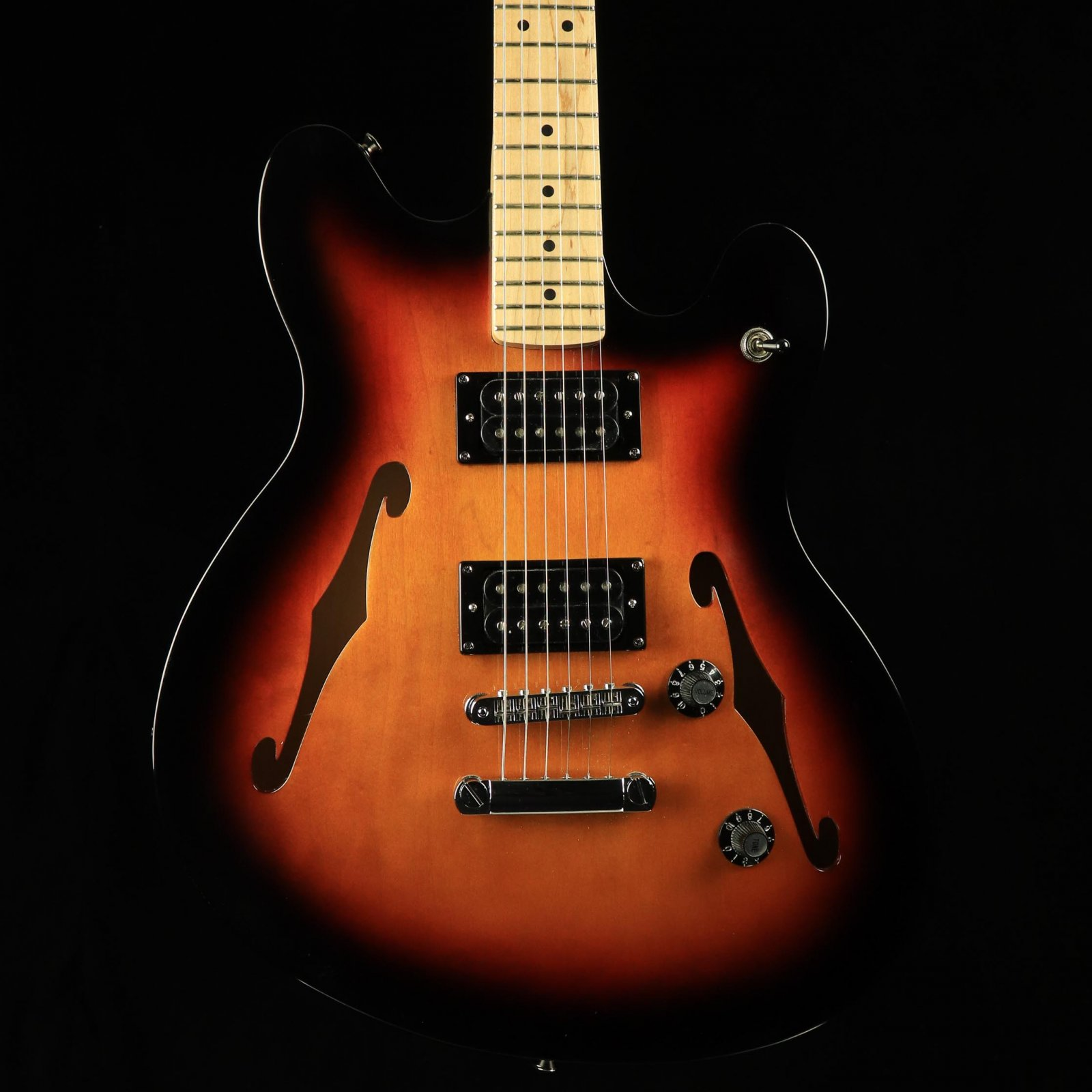 Squire Affinity Series Starcaster - 3-Color Sunburst
