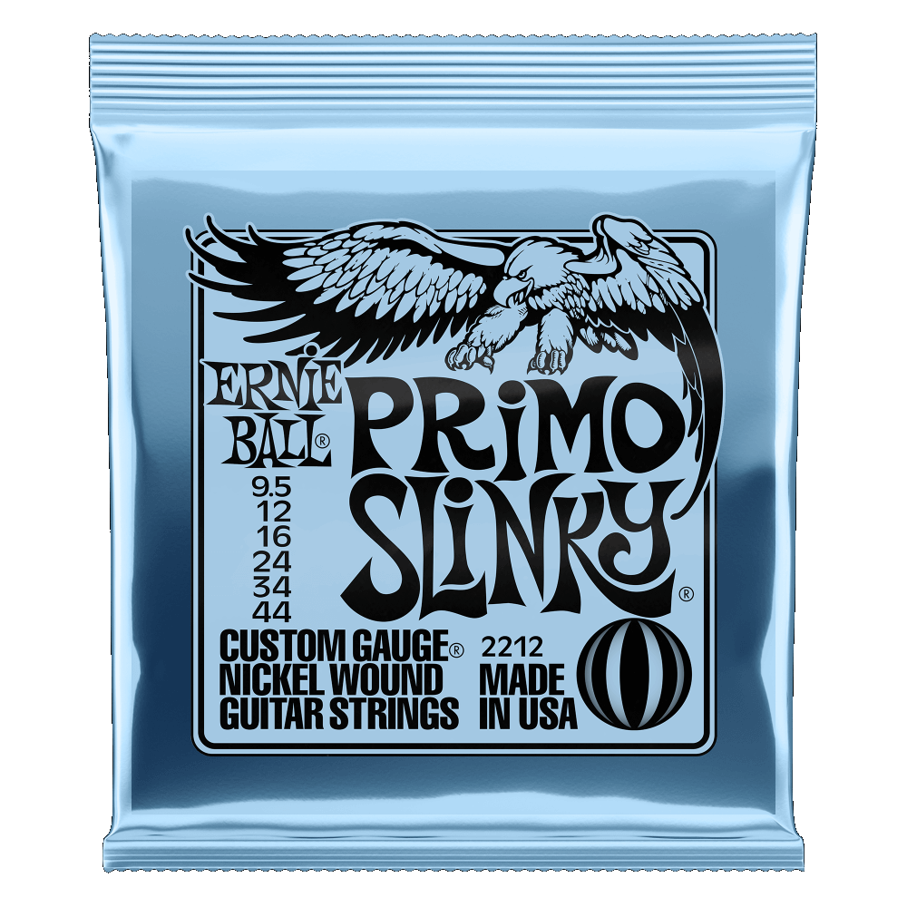 Ernie Ball Primo Nickel Wound 9.5-44 Electric Guitar Strings