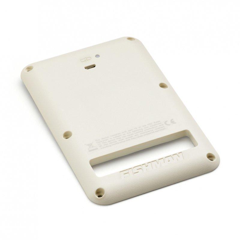 Fishman Rechargeable 9V Battery Pack for Strat White