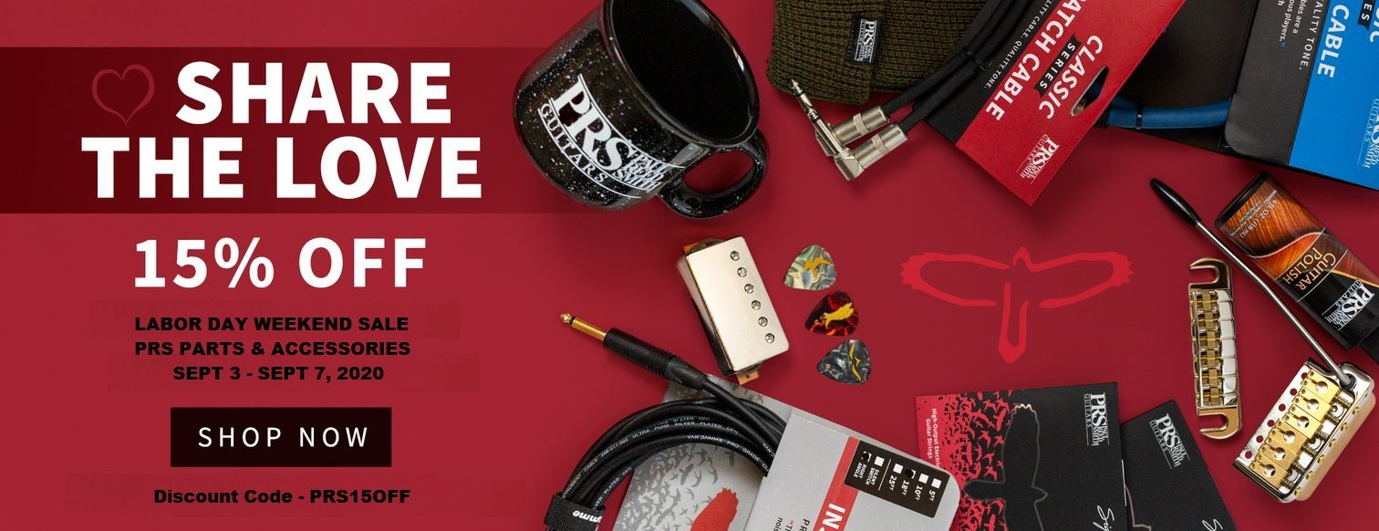 LABOR DAY WEEKEND SALE 15OFF PRS PARTS ACCESSORIES