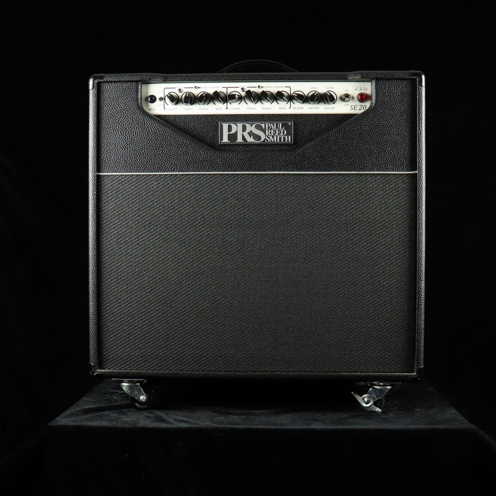 PRS SE 20 Combo Amp - Black/Silver