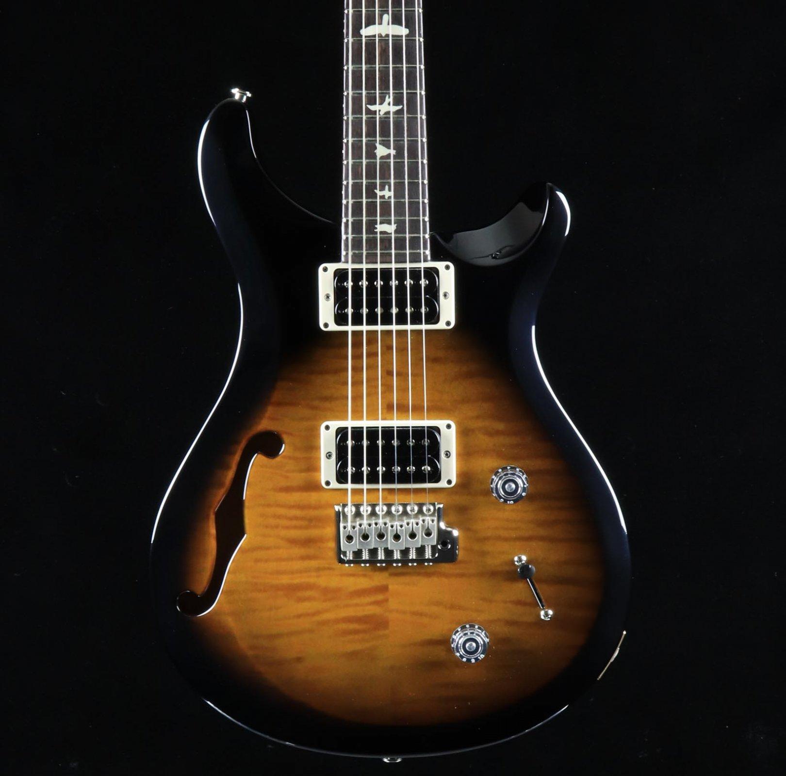 PRS S2 Custom 22 Semi-Hollow - Amber Smokeburst