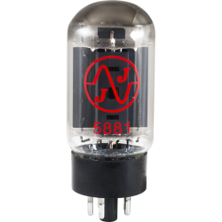 JJ Electronics 5881 Power Tube, matched quartet
