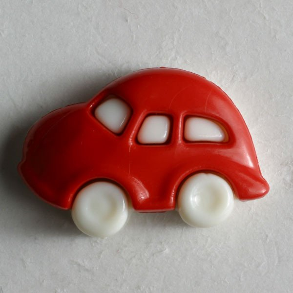 Dill Buttons - Red Car